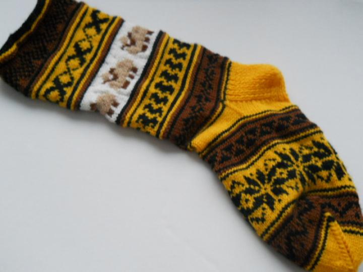 Šventinės kalėdinės kojinės