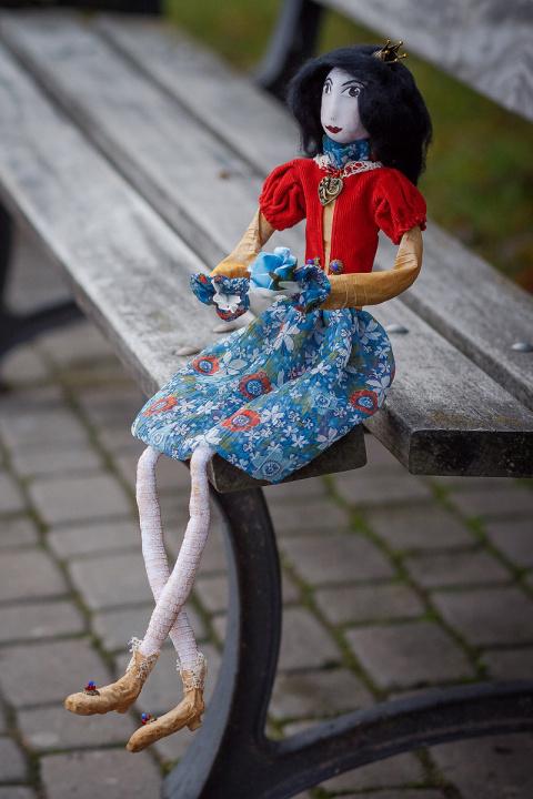 "Tekstilinė lėlė ""Queen"""