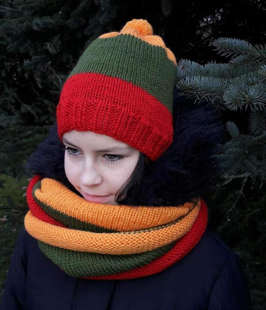 Trispalvė kepurė