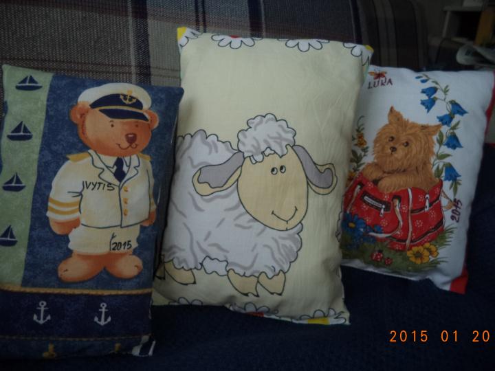 Užmigimo pagalvėlės