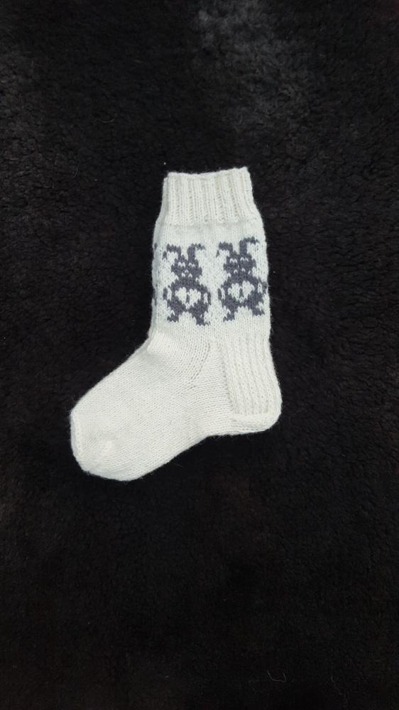vaikiskos kojines su pilku zuikiu