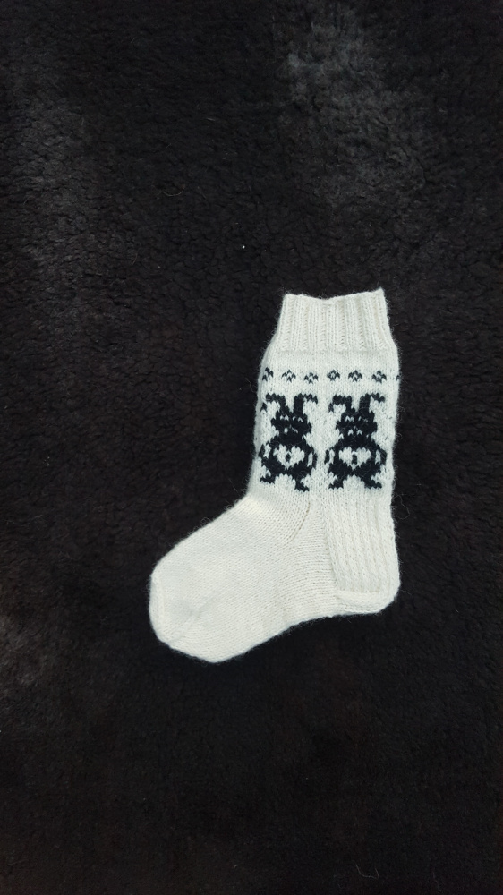 vaikiskos kojines su zuikiu