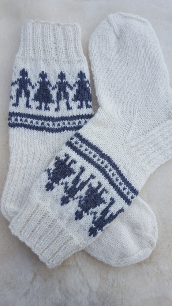 "vaikiskos vilnones kojines ""Sokantys vaikai"""