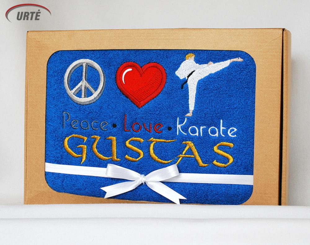 Vardinė dovana karate mėgstančiam  - Karate vaikis