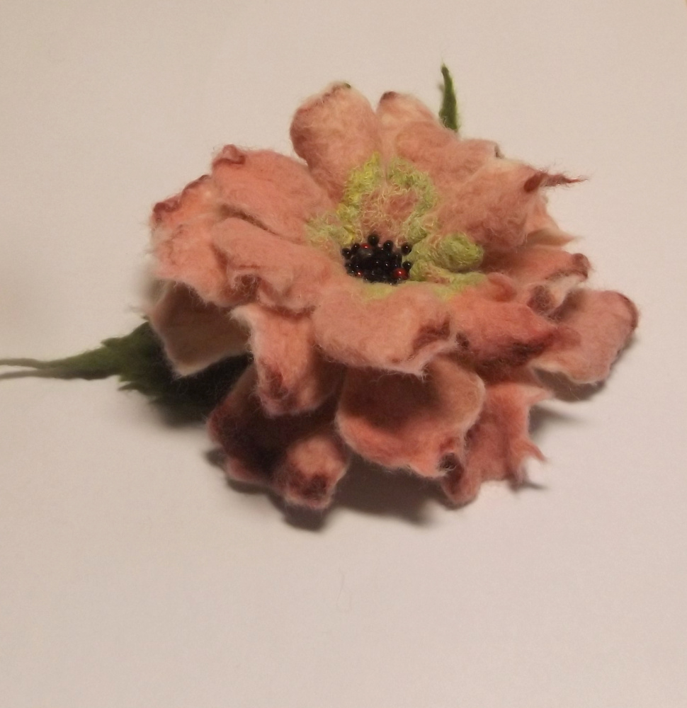 velta gėlė rausva