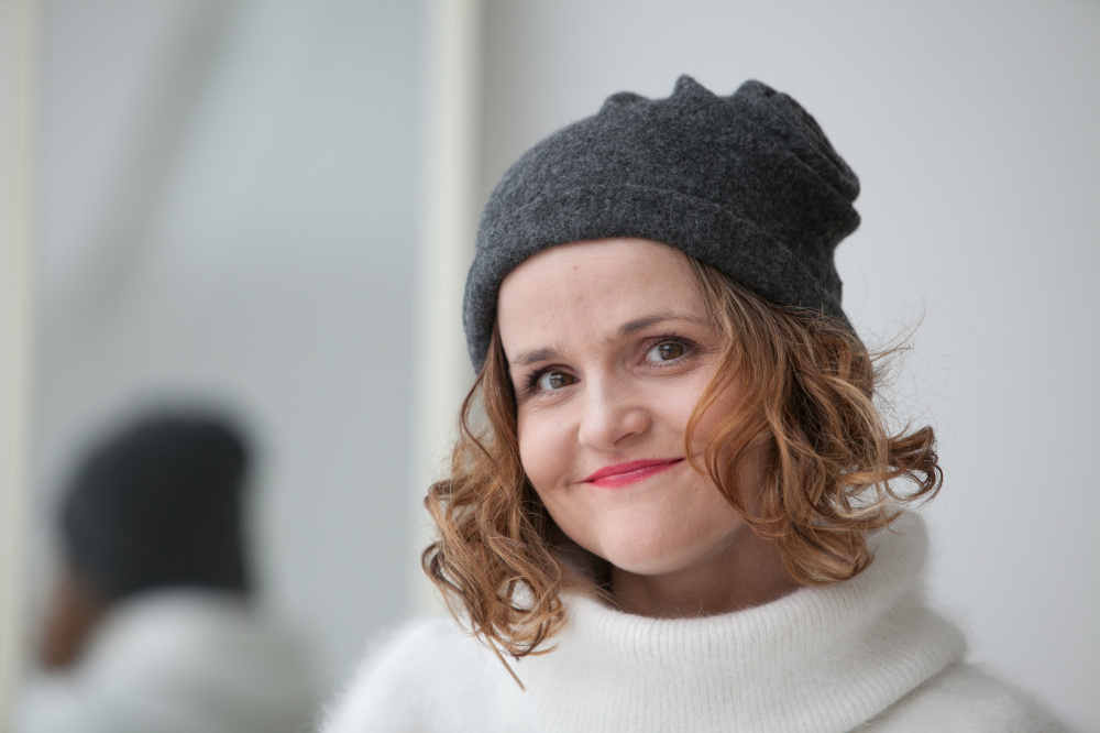 Velta minimalistine merino vilnos kepure pilka