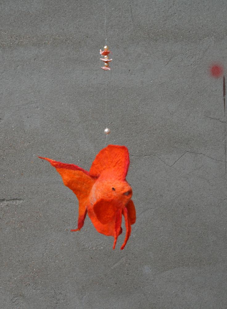 Velta žuvytė,,ORANŽINĖ,,