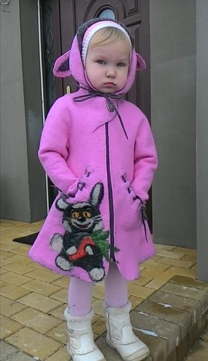 "Veltas paltukas mergaitei ""Zuikis Puikis"""