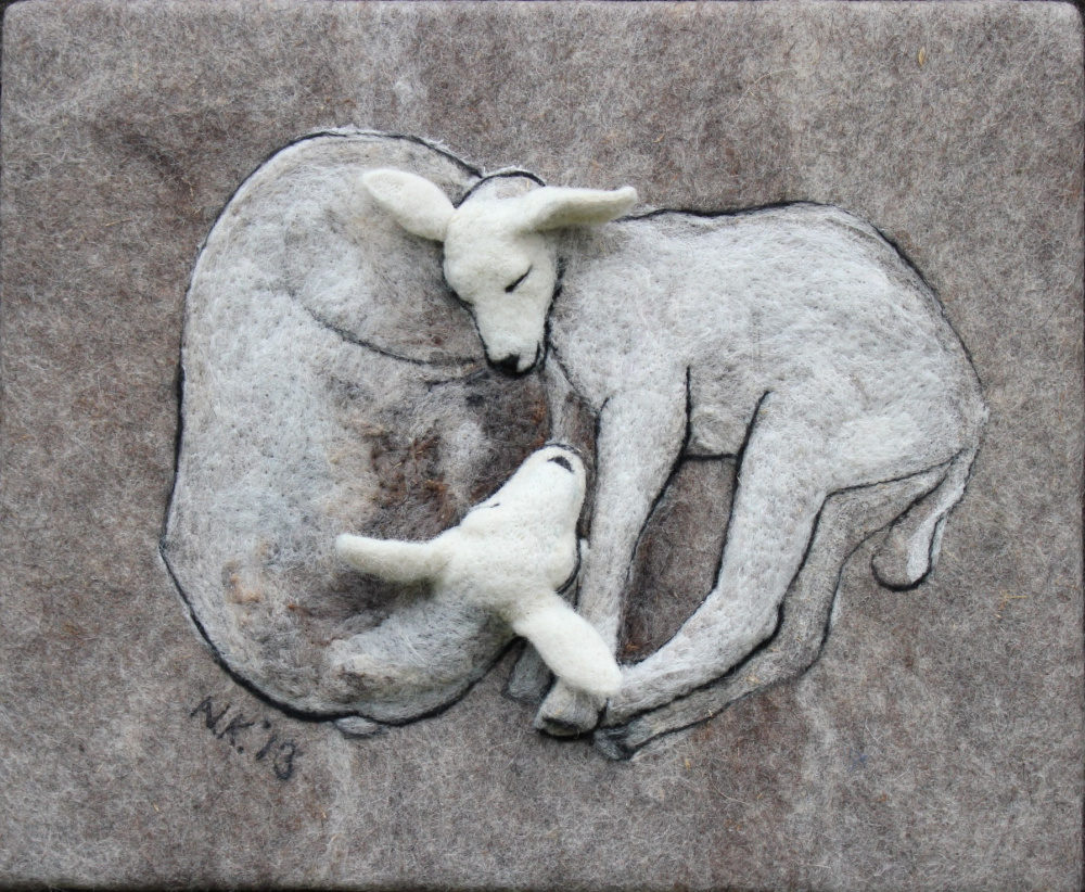 "Veltas paveikslas ""Lambs"""