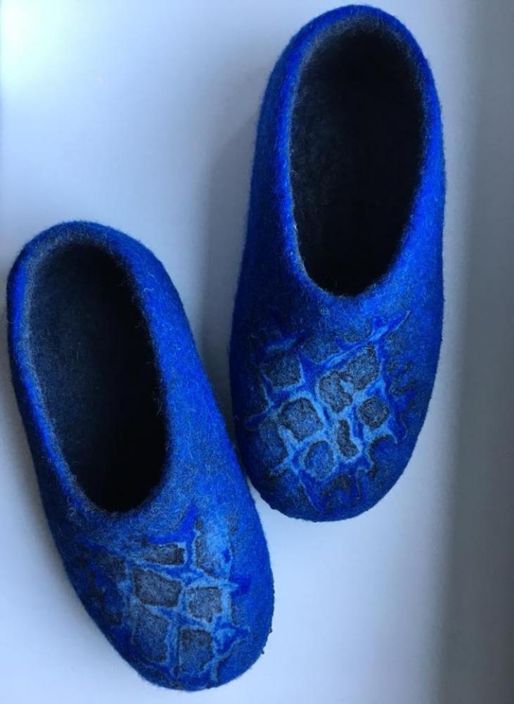 Veltos  Šlepetės. 3D dekoras
