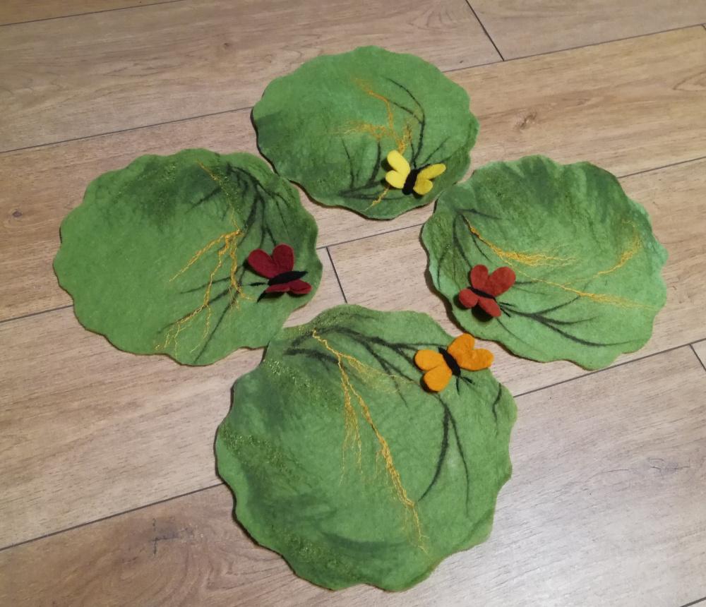 Veltos žaliosios servetėlės