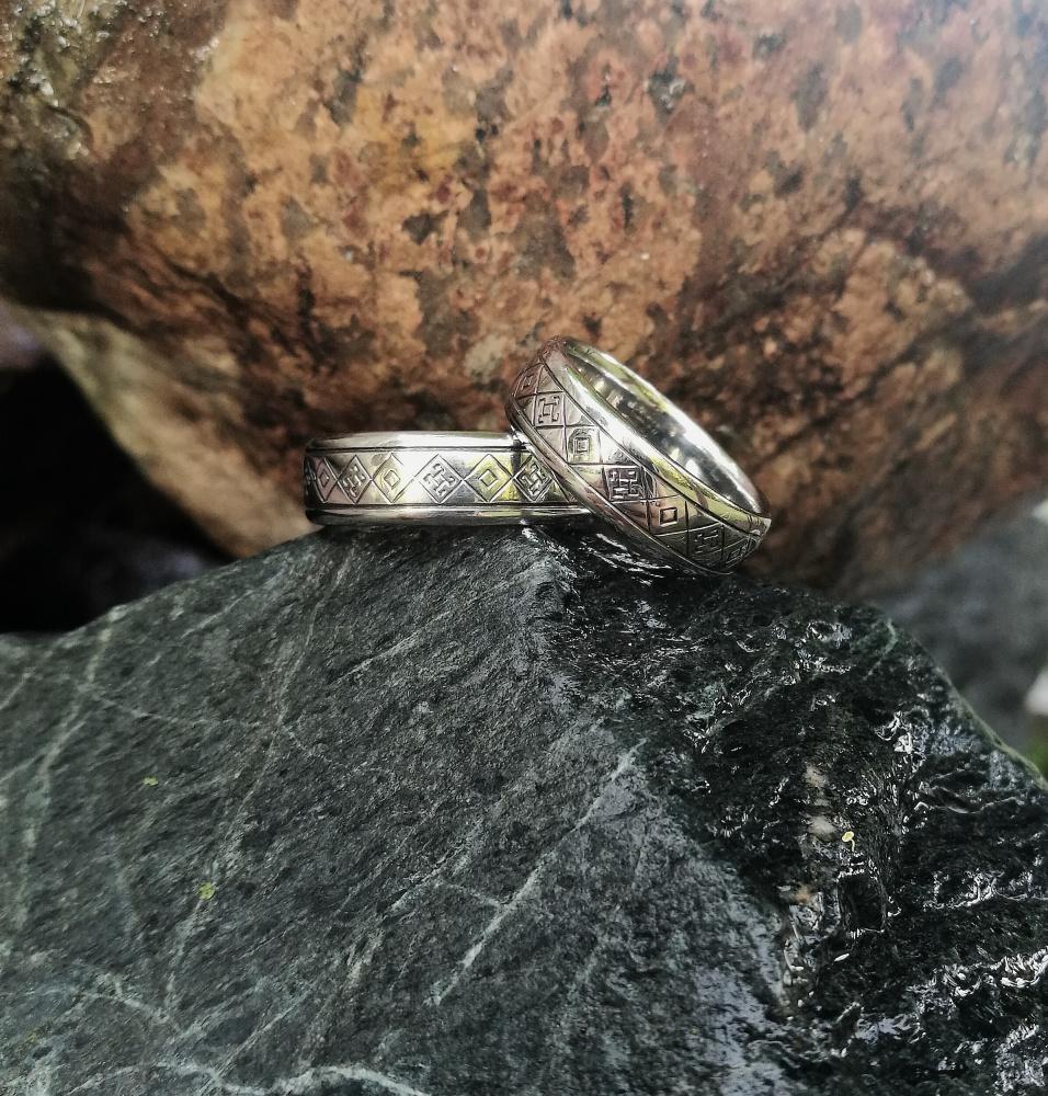 Vestuviniai nerūdijančio plieno žiedai