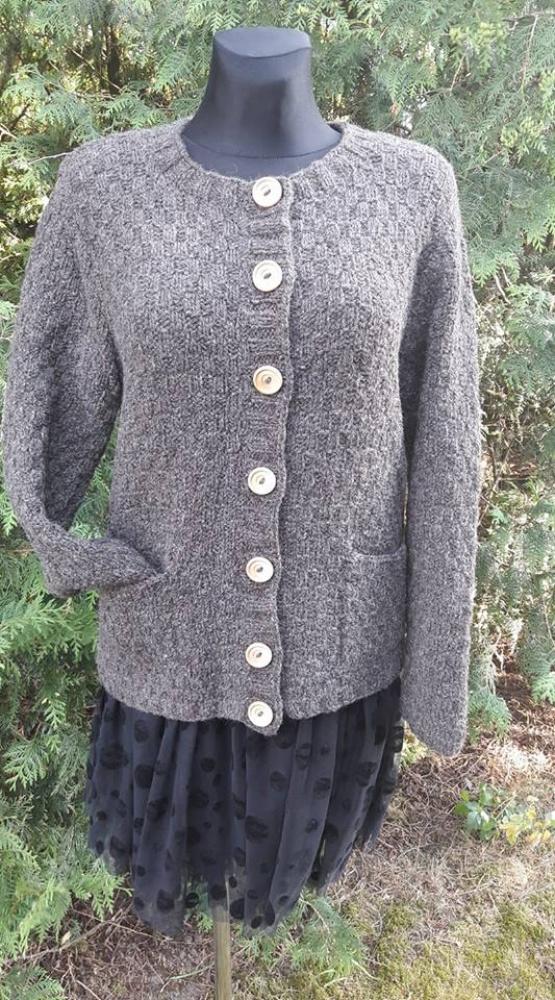 Vilnonis storas megztinis