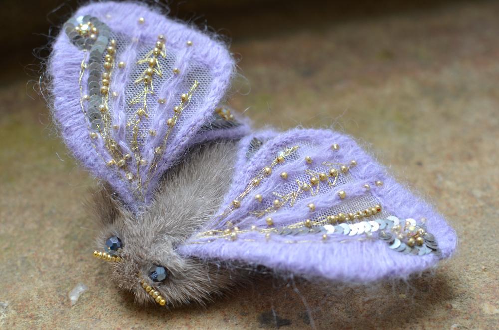 Violetinė peteliškė