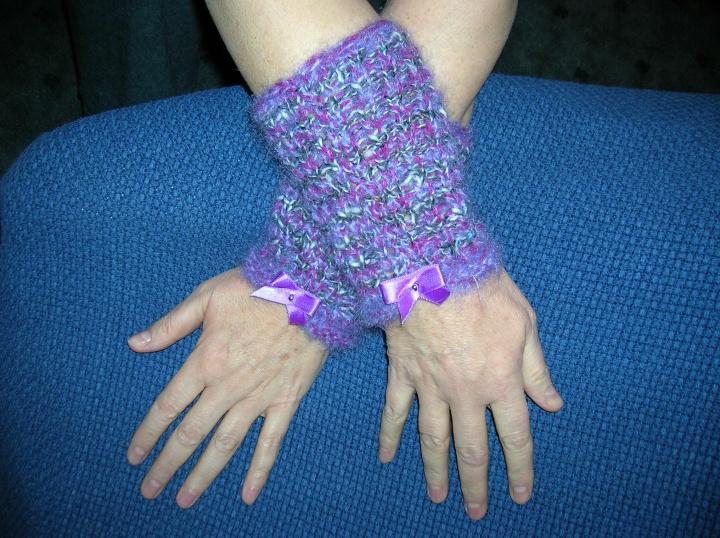 violetinės riešinės