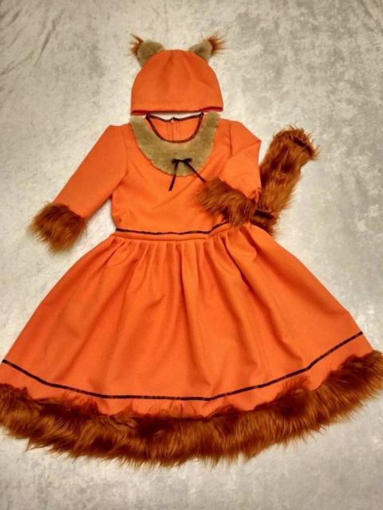 Voveraitės karnavalinis kostiumas 4