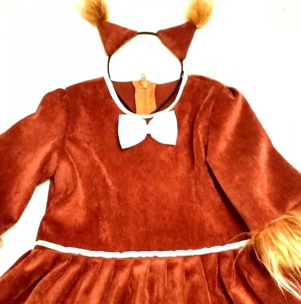 Voveraitės karnavalinis kostiumas 5