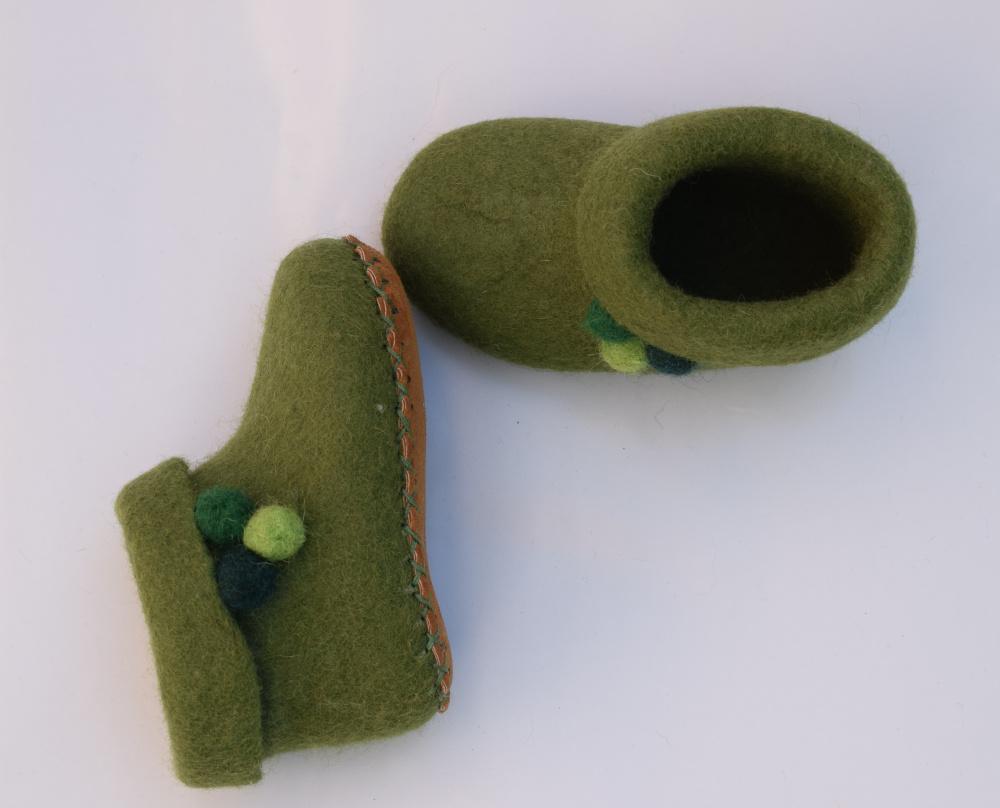 Žali bumbuliukai