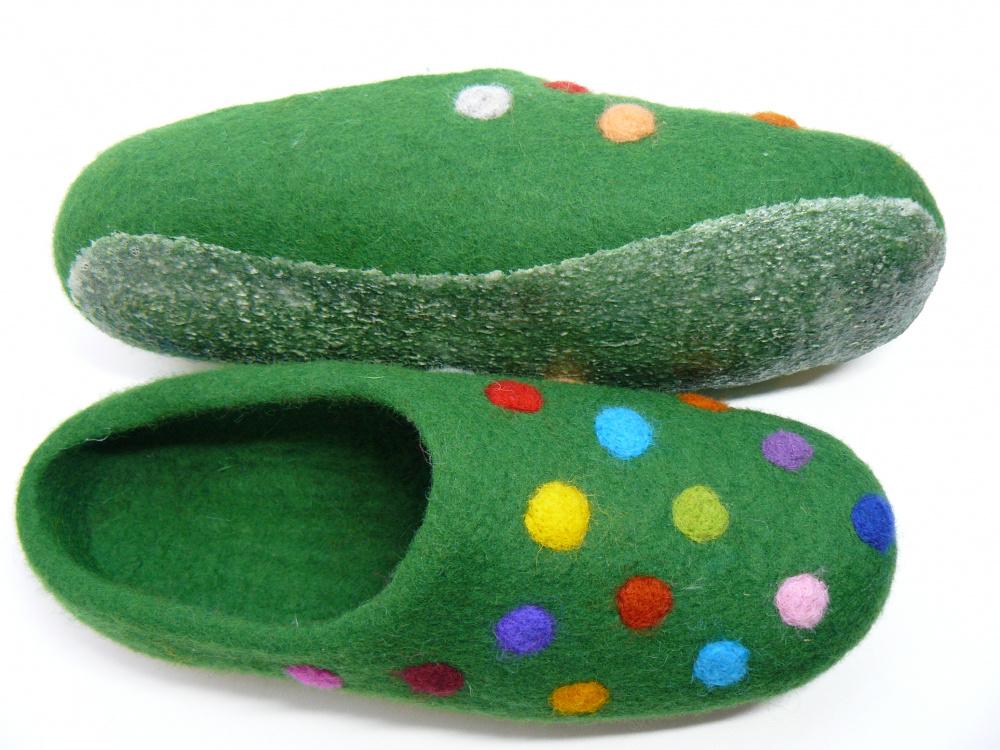 Žalios šlepetės