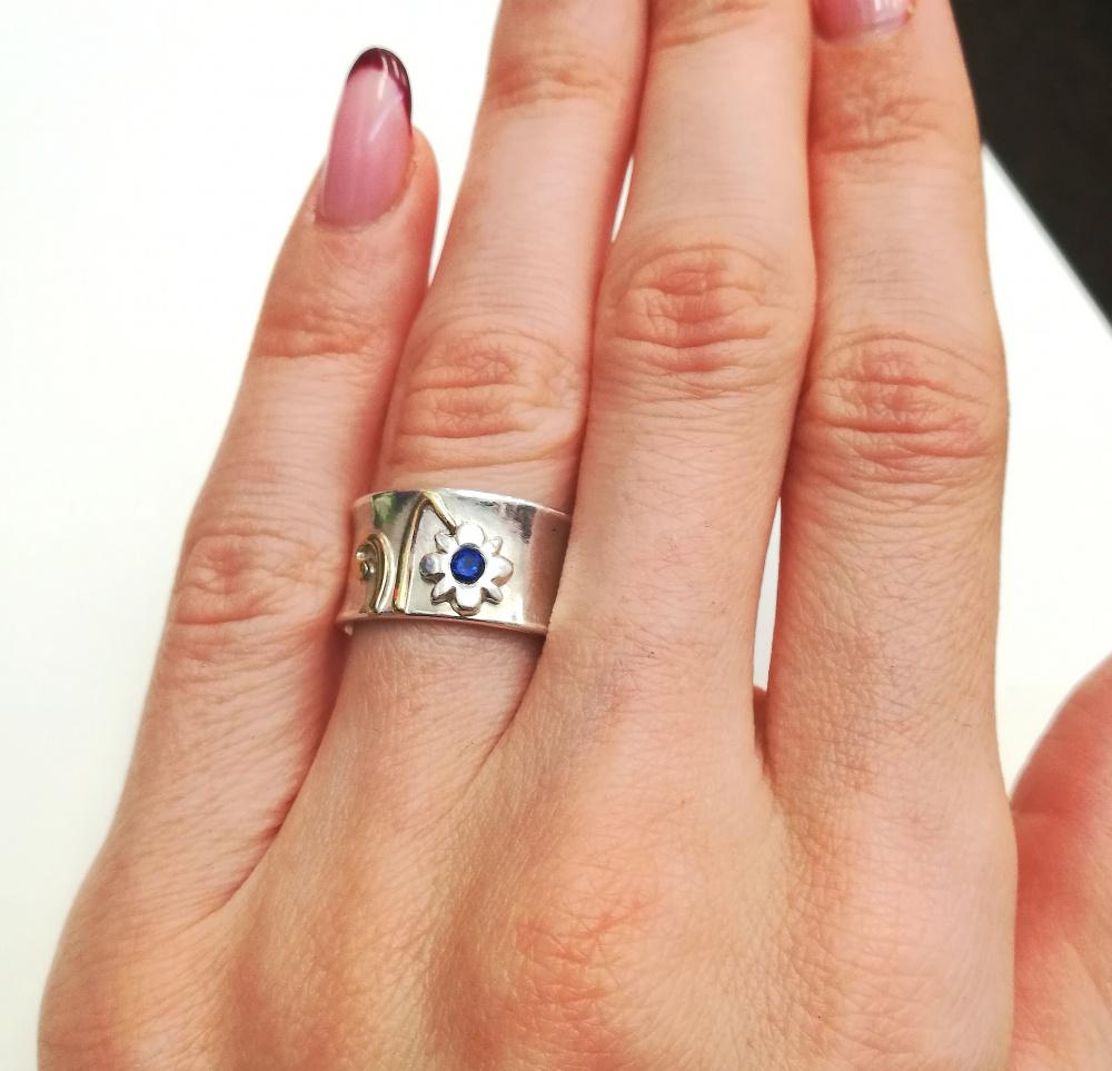 Žiedas su špineliu