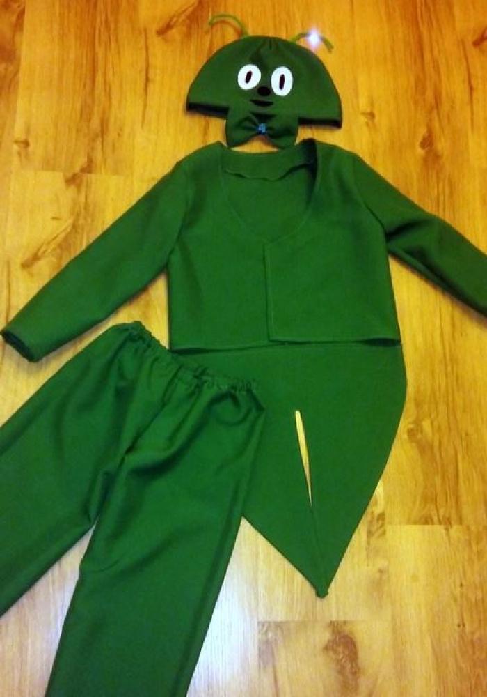 Žiogo, vabalo karnavalinis kostiumas (vaikiškas)