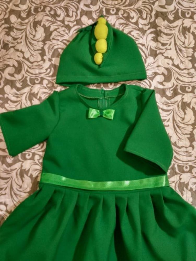 Žirnio, žirniukės kostiumas mergaitei 3