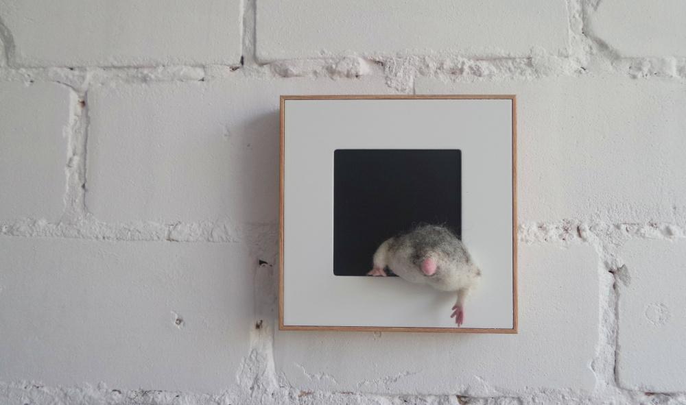 Žiurkėnas - Mano augintinis - Paveikslas 3D