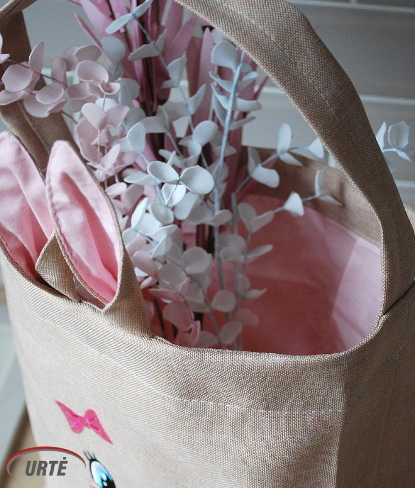 Zuikutės krepšelis - velykinėms gėrybėms sudėti!