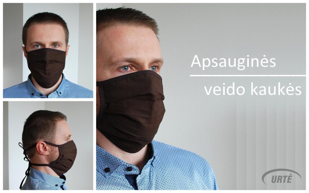 Apsauginė veido kaukė - RUDOS