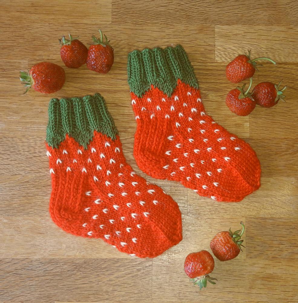 Braškinės kojinytės