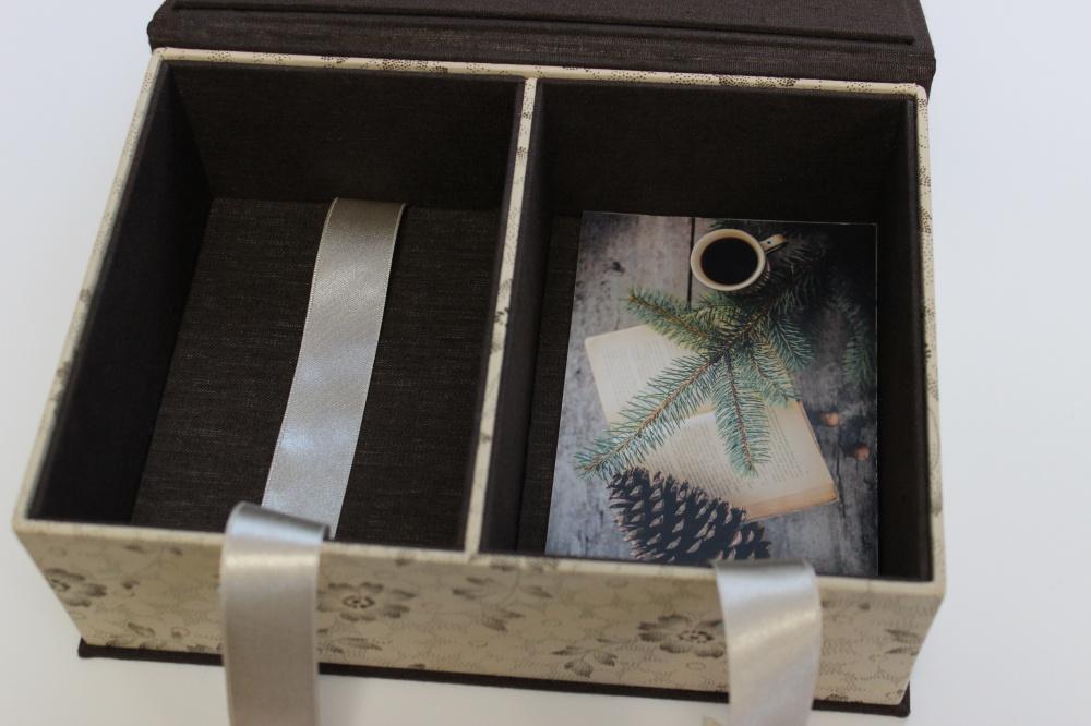"""dėžutė nuotraukoms """"šokoladas"""""""