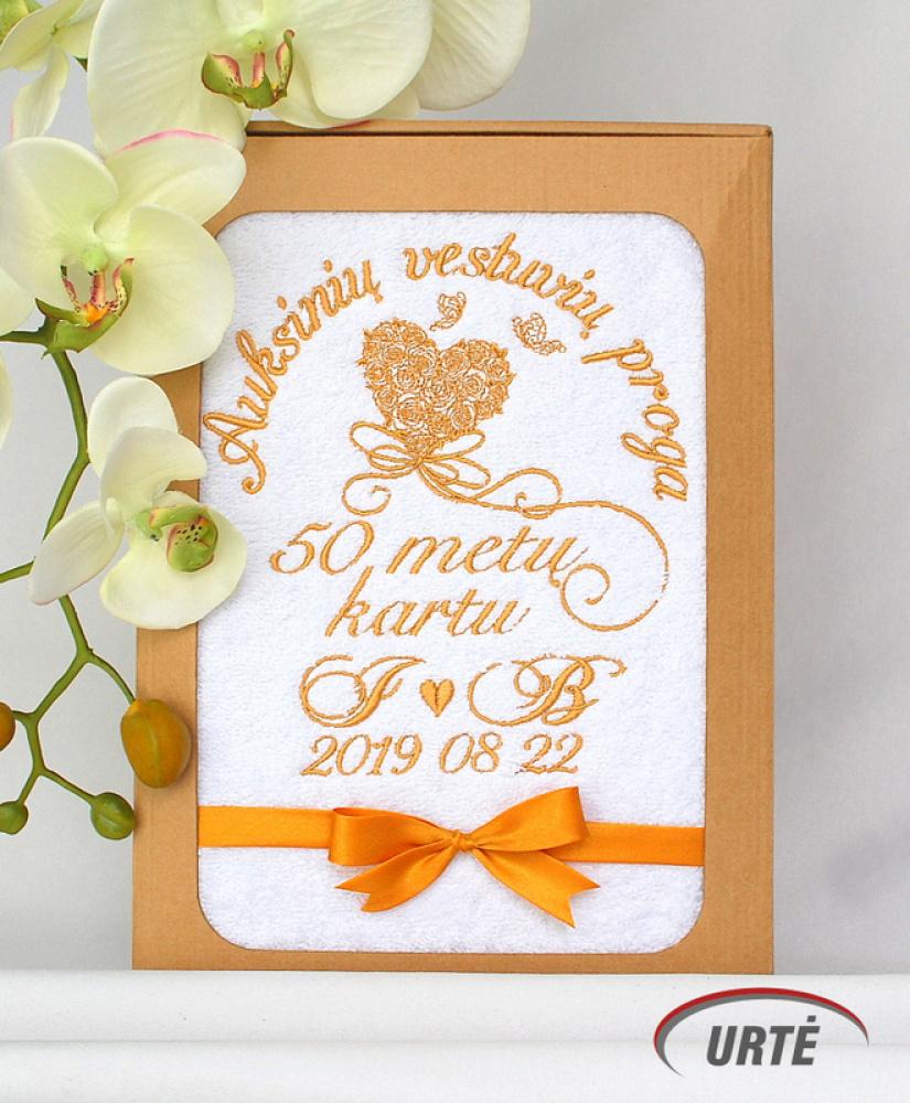 Dovana auksinių vestuvių metinių proga