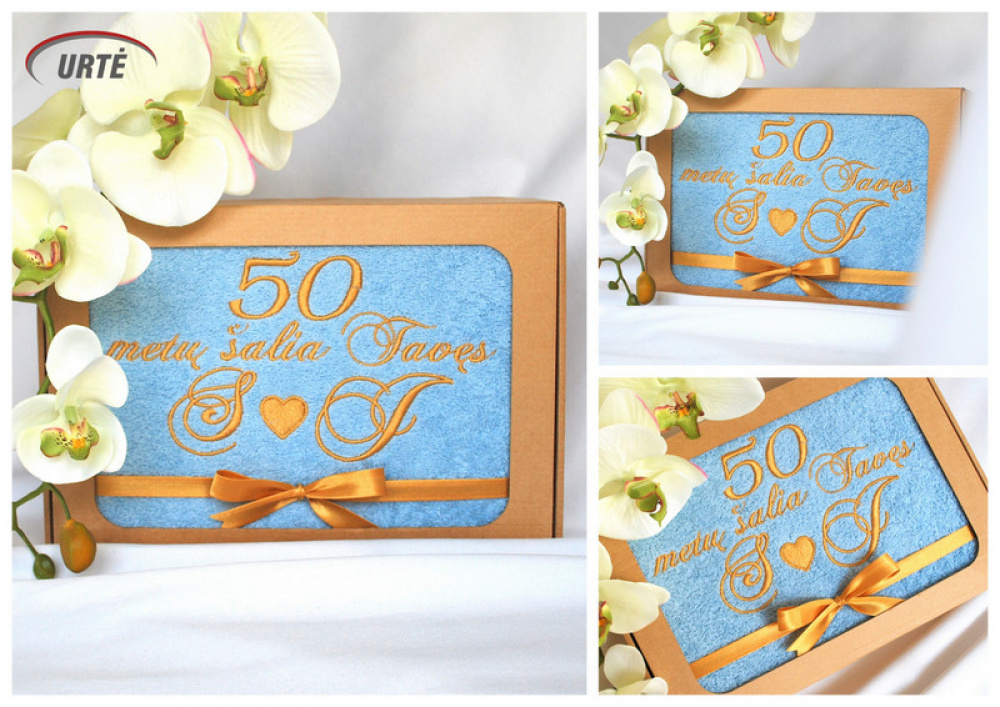 Dovana auksinių vestuvių metinių proga - 50 metų vestuvių metinės