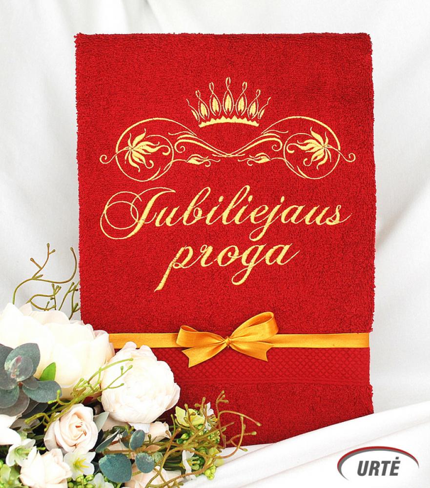 Dovana jubiliejaus proga - siuvinėti rankšluosčiai - Karalystė