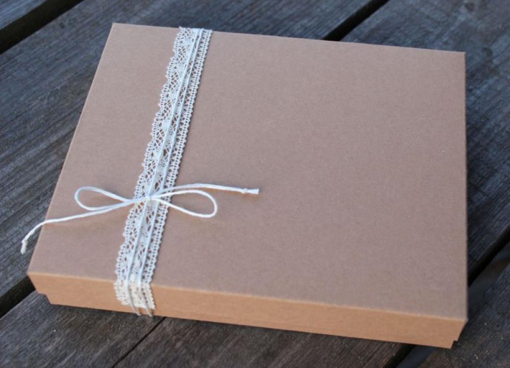 """dovanų dėžutė """"Kraft"""""""