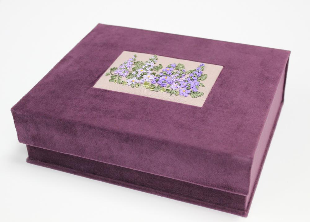 """dovanų dėžutė """"violetas"""""""