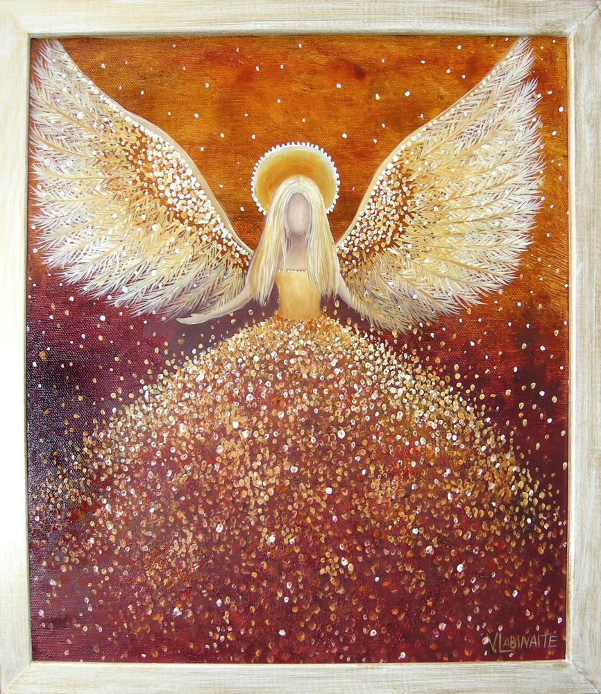 Džiaugsmo Angelas 30x35
