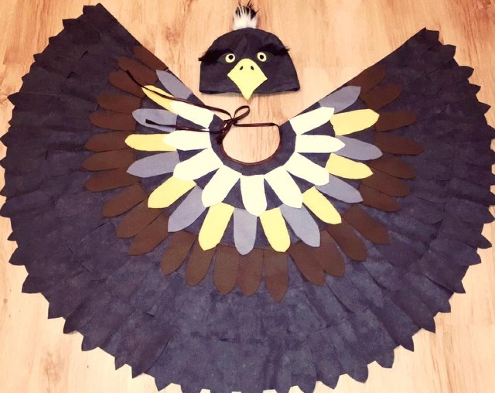 Erelio, vanago karnavalinis kostiumas