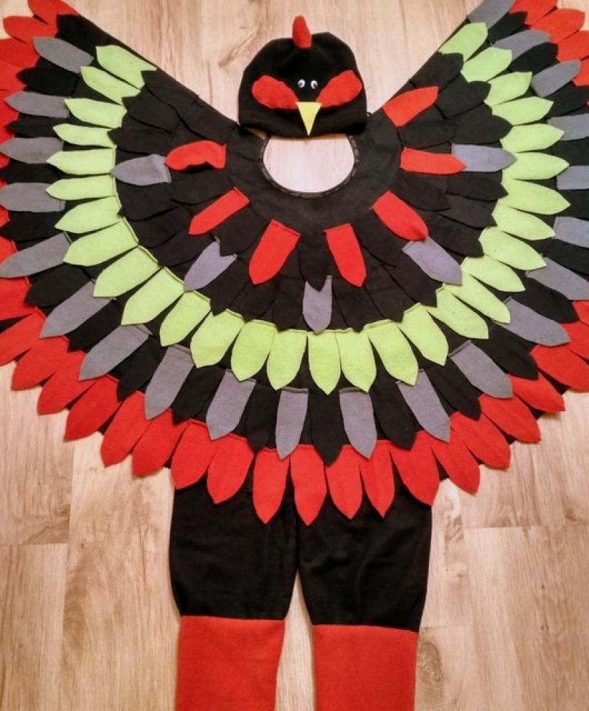Gaidžio, gaidelio, viščiuko karnavalinis kostiumas
