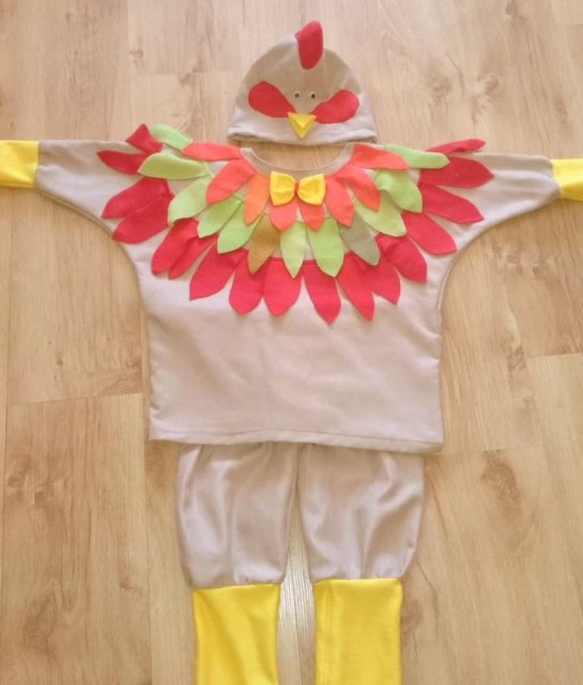 Gaidžio, gaidelio, viščiuko kostiumas*