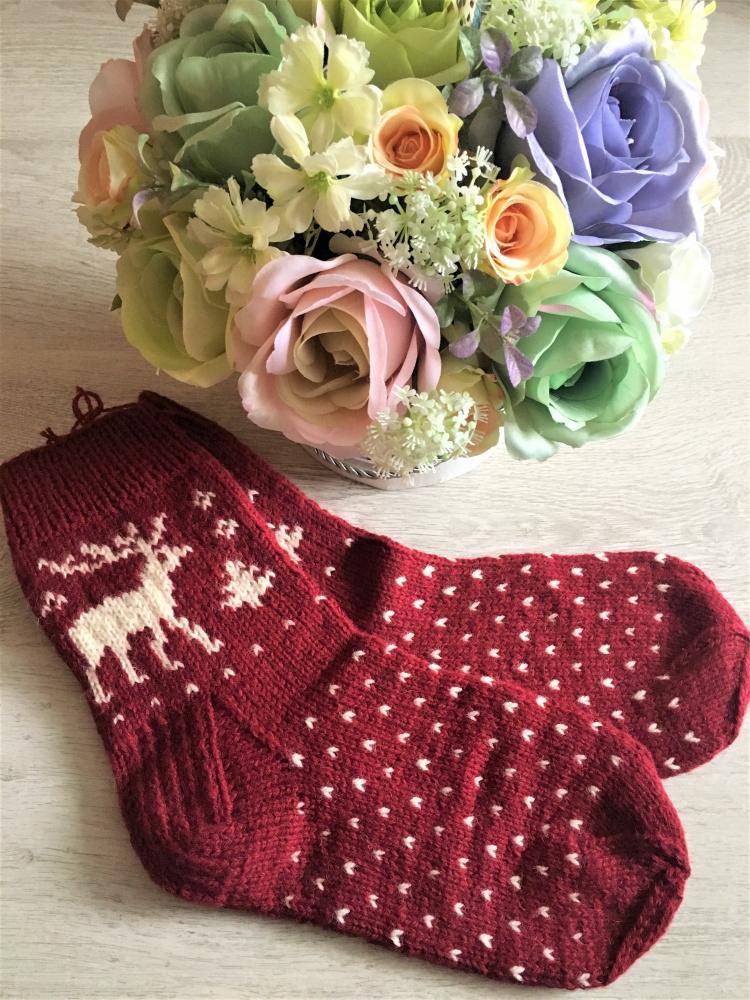 GP-943 Megztos vilnonės kojinės