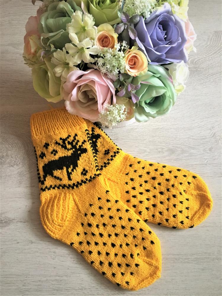 GP-947 Megztos vilnonės kojinės