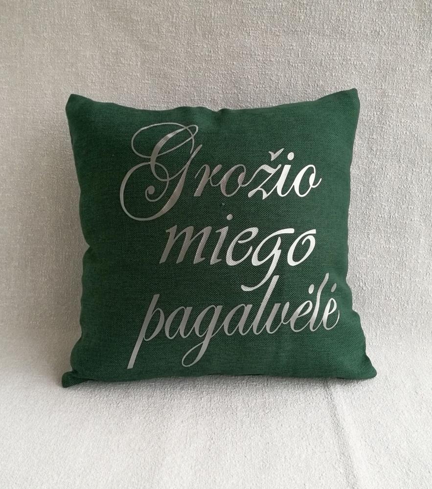 Grožio miego pagalvėlė