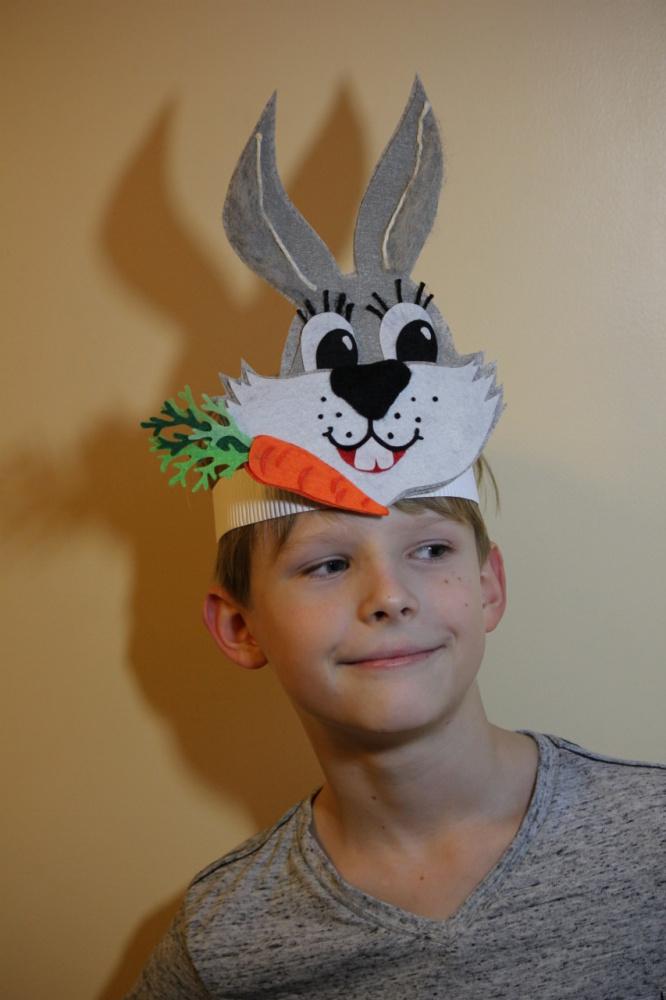 Išskirtinė Kiškio Piškio kaukė vaikučių šventėms, vaidinimams