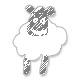 Kaklaskarė - vasaros debesėlis megzta virbalais