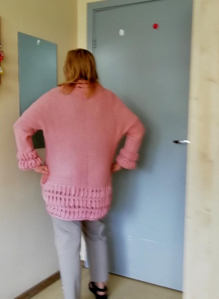 """Kardiganas iš serijos """"Pavasario spalvos"""" - švelniai rožinis"""