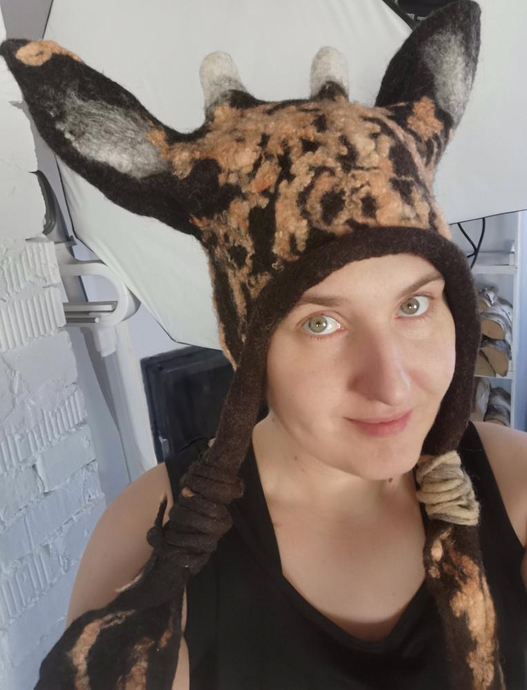 Kepurė velta linksma