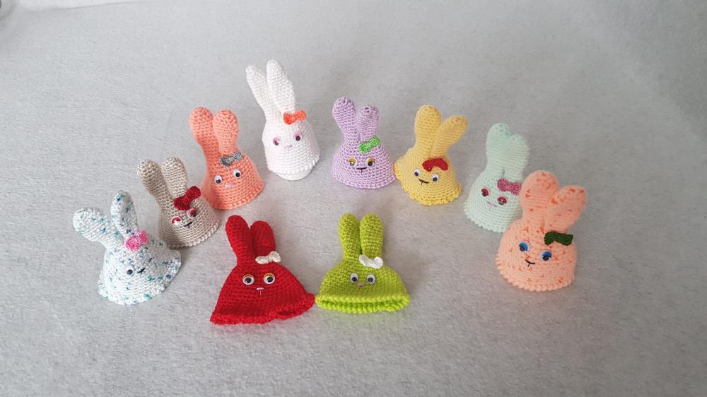 Kepurėlės Velykiniams kiaušiniams
