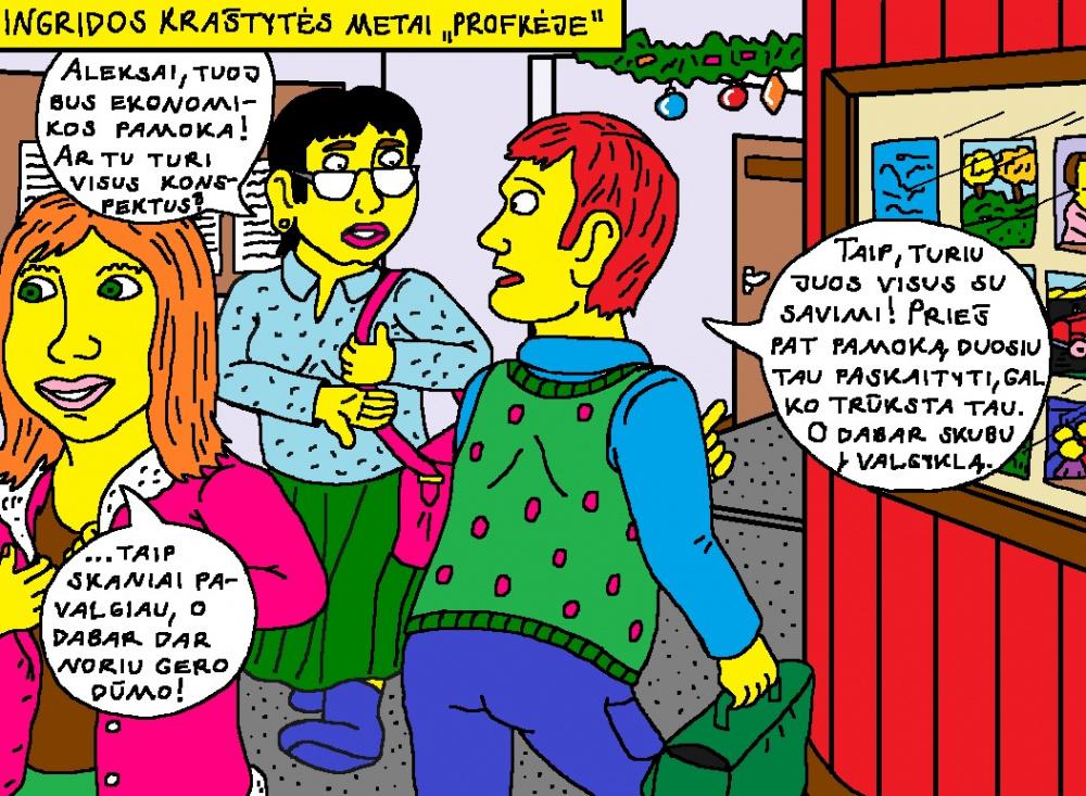 """Kėžietės Ingridos Kraštytės mokymosi Kupiškio """"Profkėje"""" metai 2"""