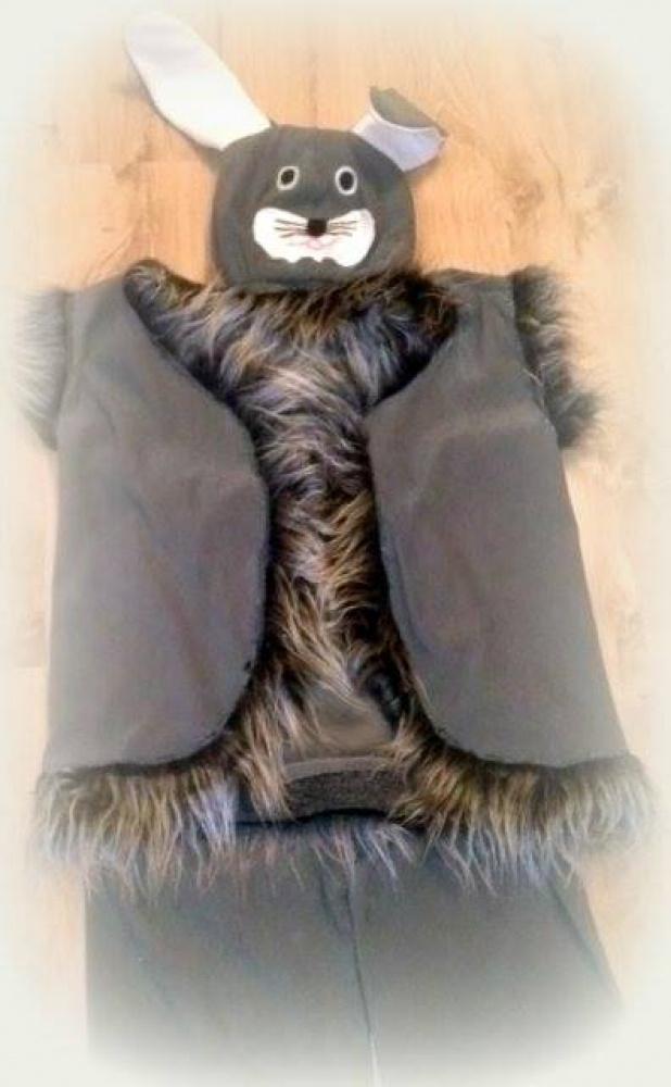 Kiškio, zuikio vaikiškas karnavalinis kostiumas **